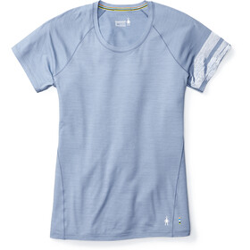 Smartwool Merino 150 Baselayer Pattern Ondergoed bovenlijf Dames blauw
